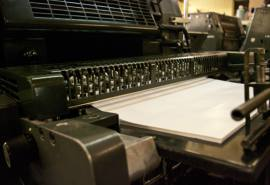 Imprimerie offset
